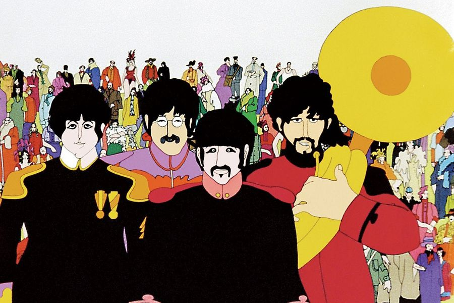 Los Beatles te invitan a cantar con la película Yellow Submarine en Youtube