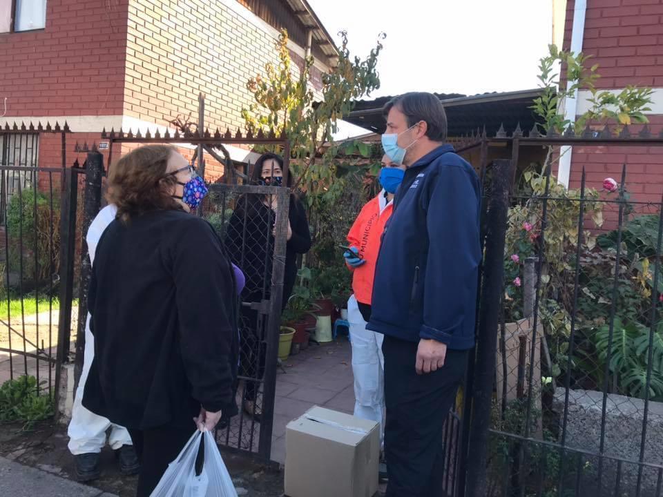 """Alcalde Codina por reparto de alimentos: """"La segunda ayuda del gobierno no debería ser por cajas, sino por una trasferencia"""""""
