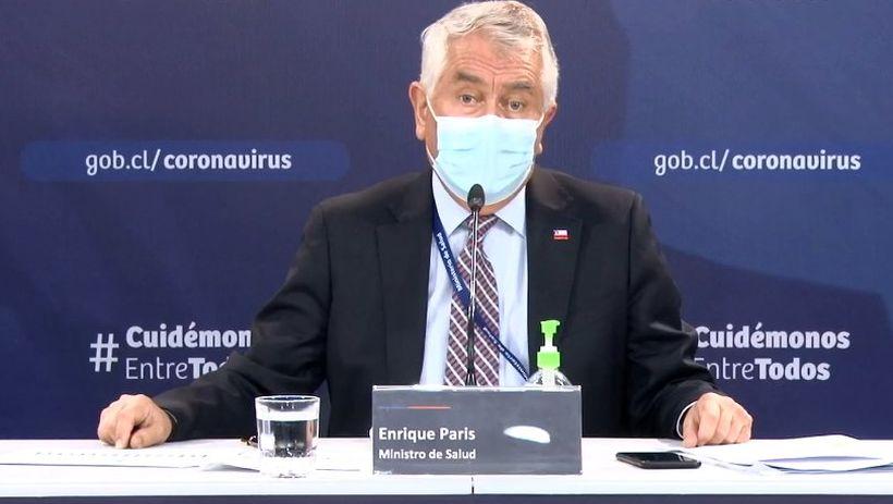 Ministro Paris anuncia habilitación de app para entrega de resultado de PCR: Es voluntaria y permite hacer seguimientos