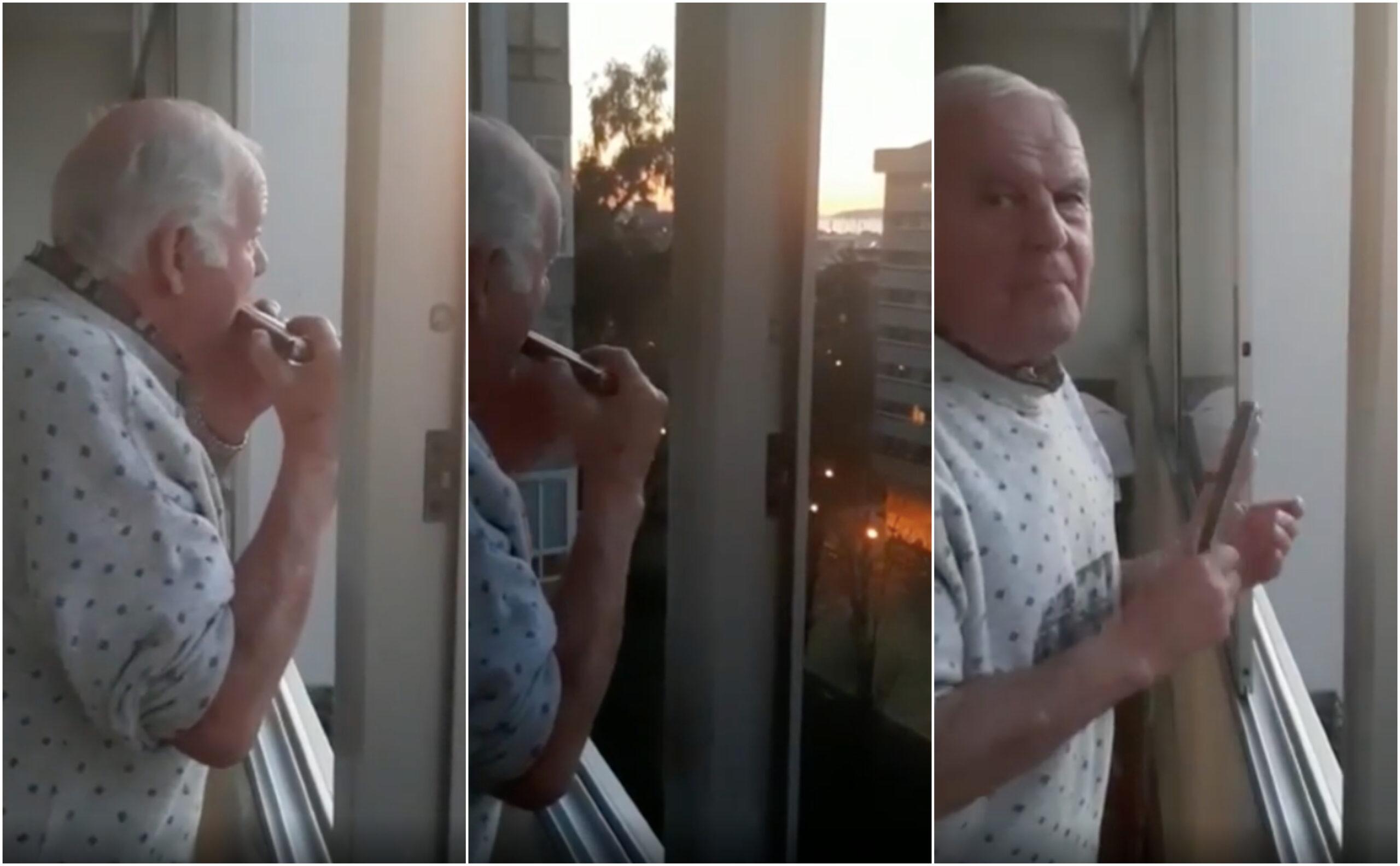 La tierna historia del anciano con Alzheimer que creía que los aplausos en cuarentena eran para él