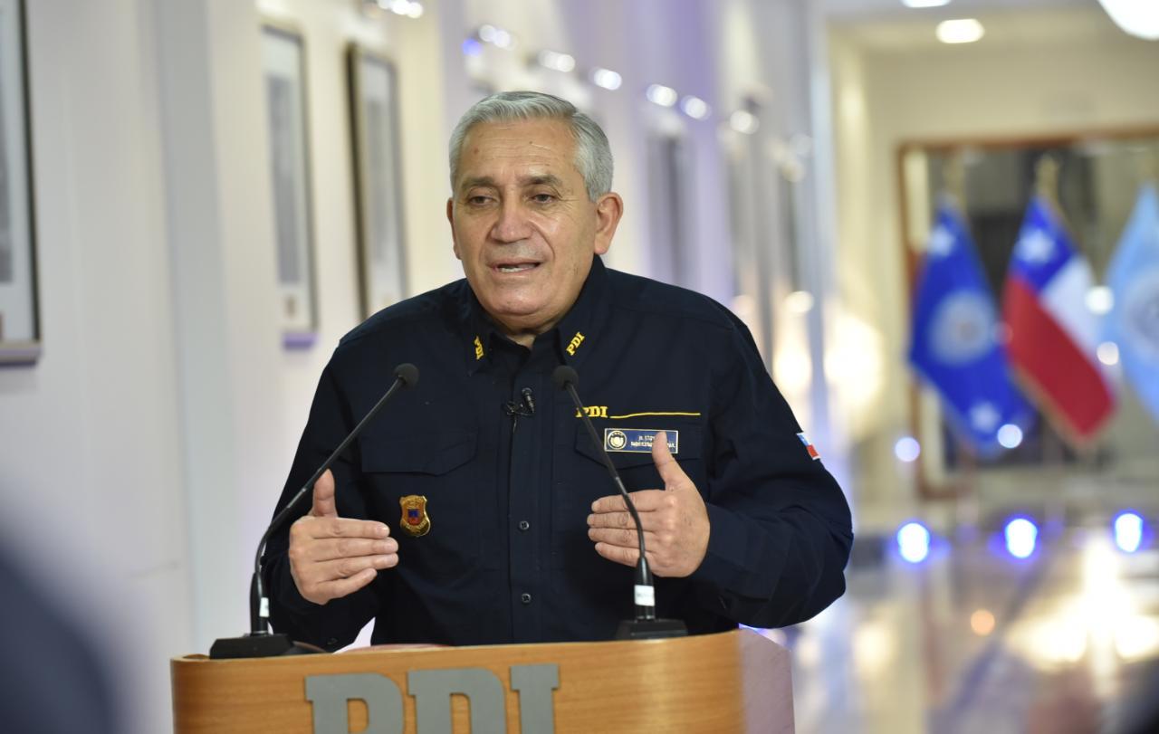 Director de la PDI señala que faltan acuerdos para terminar con la violencia en el país