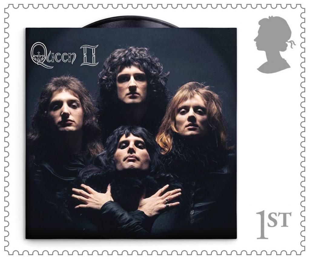 Queen tendrá su serie de estampillas del correo británico