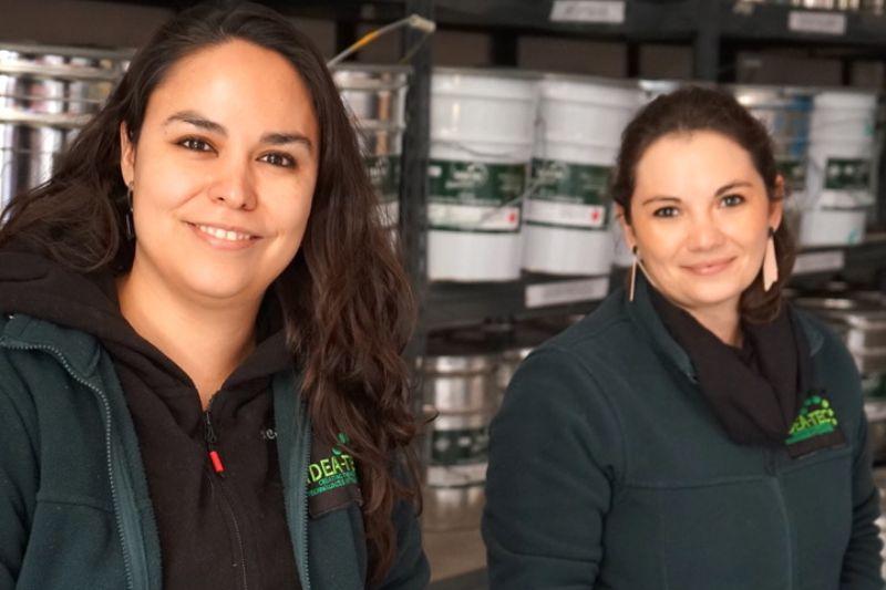 Cristina Acuña nos contó sobre Idea-Tec: La empresa que convierte los desechos de plumavit en pintura
