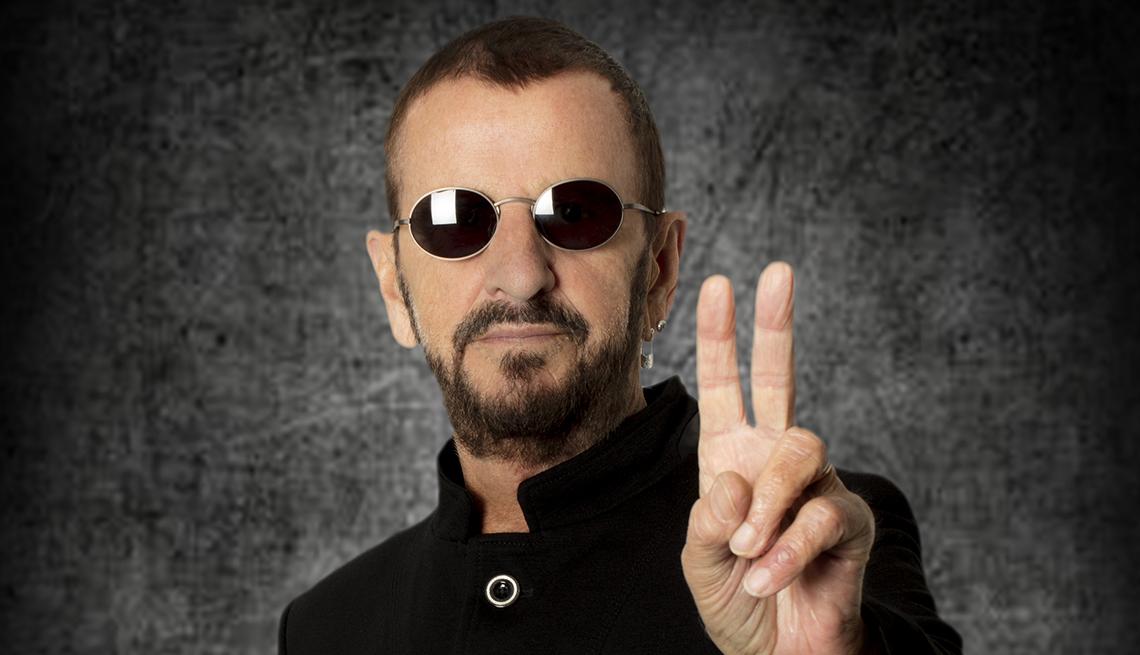 Ringo Starr cumple 80 años y celebra con un concierto virtual