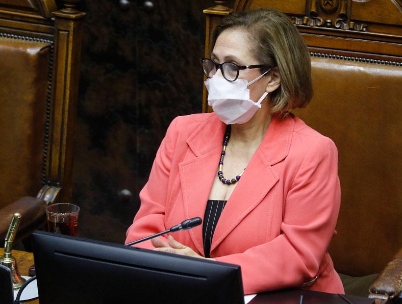 """Presidenta del Senado dice que """"hay un beneplácito del ministro de Interior a que las carreteras estén tomadas"""""""