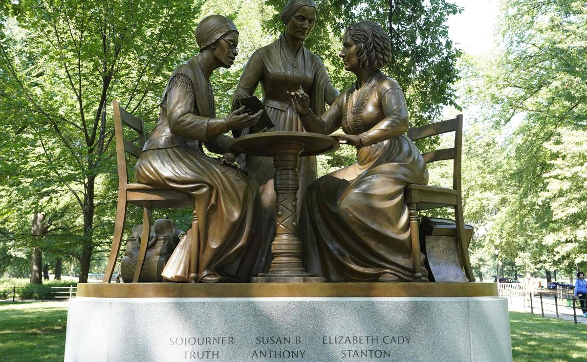 Después de 170 años Central Park inauguró su primera estatua dedicada a mujeres reales