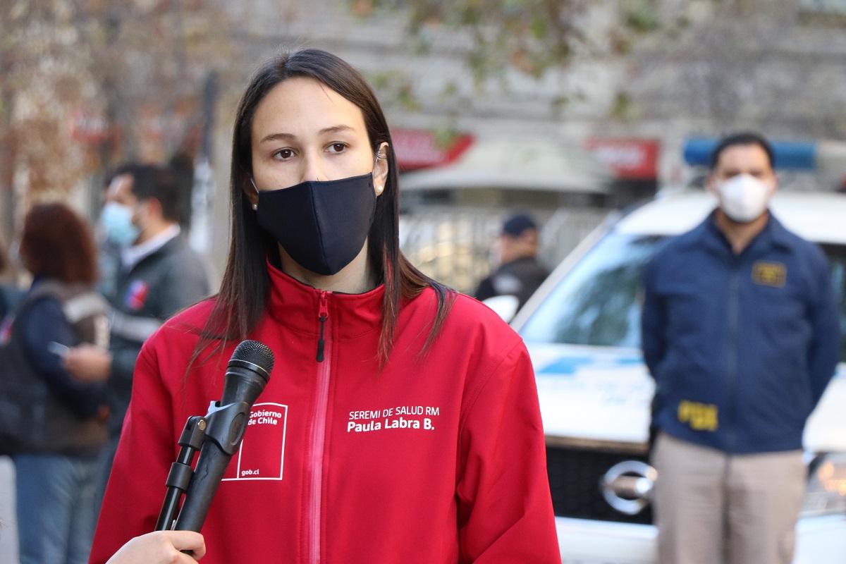 """Seremi de Salud plantea que en la Región Metropolitana no hay un rebrote de Covid, si no que """"una leve alza"""""""