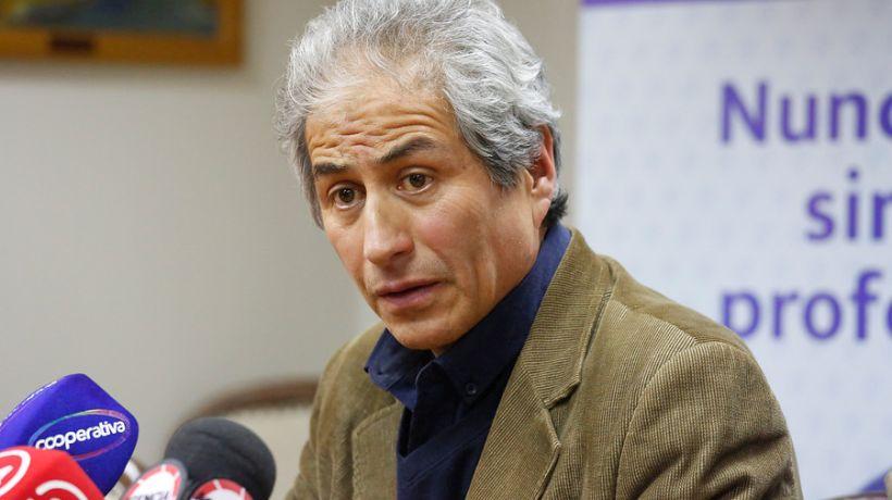 "Aguilar por eventual retorno al aula: ""Nos parecen que están equivocadas las prioridades del ministerio""."