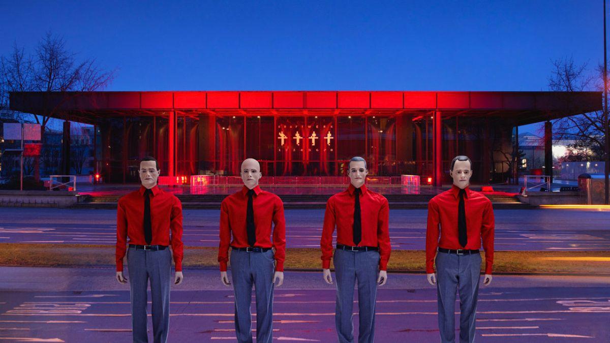 Kraftwerk reedita sus discos clásicos en vinilos de colores
