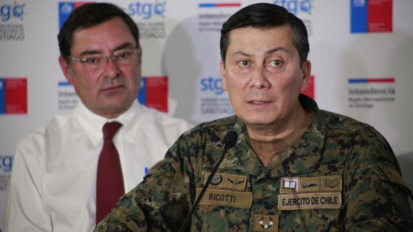 General Ricotti asegura que contagiados con Covid sorprendidos en locales de votación sí pueden votar, pero luego serán detenidos