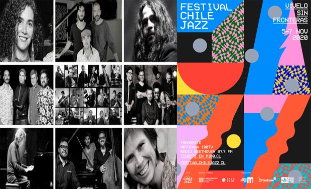 María José Concha nos contó todos los detalles de la primera edición online del festival Chile Jazz
