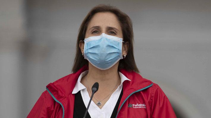 """Alcaldesa Leitao: """"Estamos a cargo del plan de vacunación porque en la práctica lo único que hace el ministerio es entregarnos las vacunas"""""""