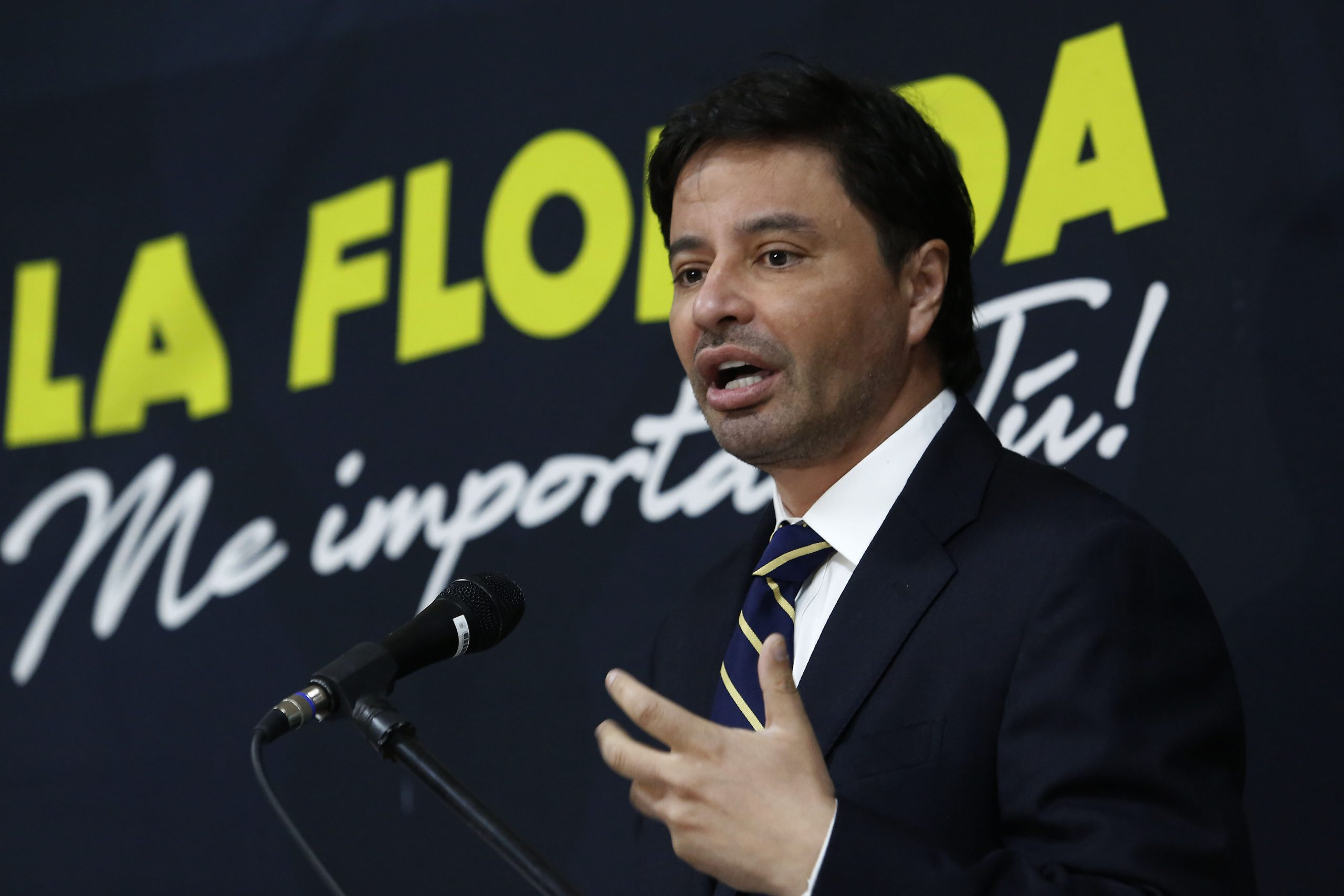 """Alcalde de la Florida Rodolfo Carter responde a negativa de Audax Italiano: """"No son los dueños del jardín"""""""