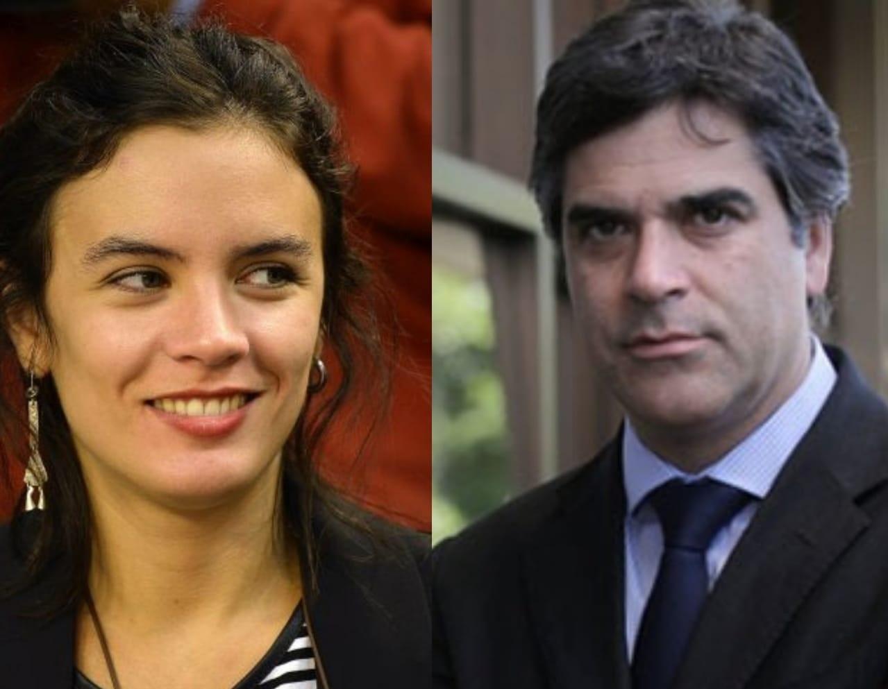Panel: los diputados Camila Vallejo y Gonzalo Fuenzalida debaten por el proyecto de tercer retiro del 10% de las AFP