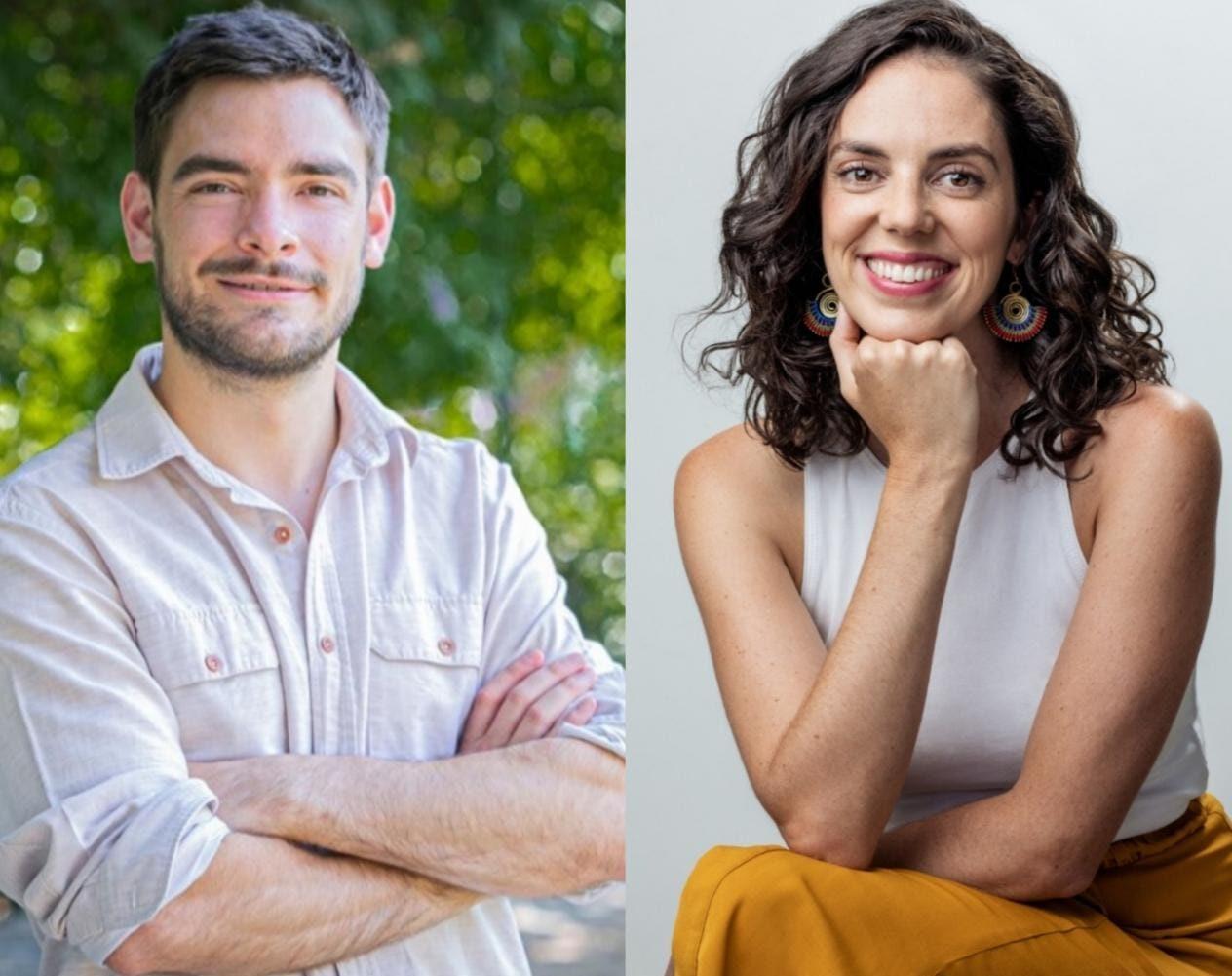 Panel Constituyente de Tomás Guevara y Carolina Pérez debaten acerca del sistema político en Nueva Constitución