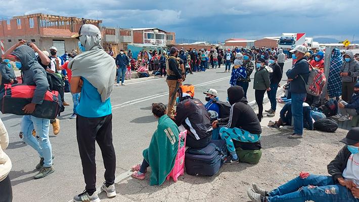 """Jueza María Olga Troncoso del Juzgado de Familia de Iquique por migrantes menores: """"Se les protege en salas cunas de día, pero de noche vuelven a la calle"""""""